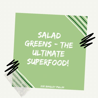 Why salad greens are the ultimate superfood