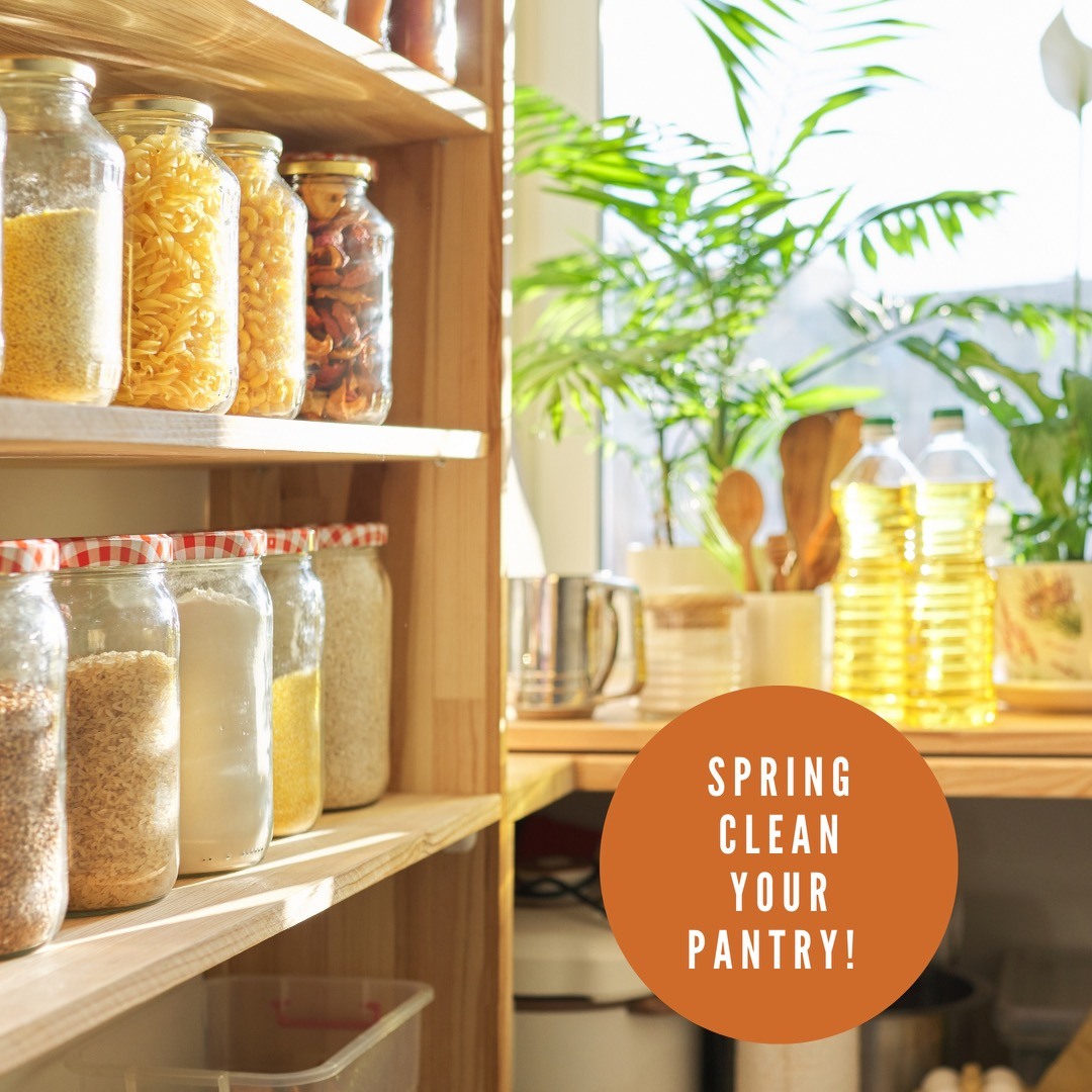 Spring clean your pantry + spring recipes